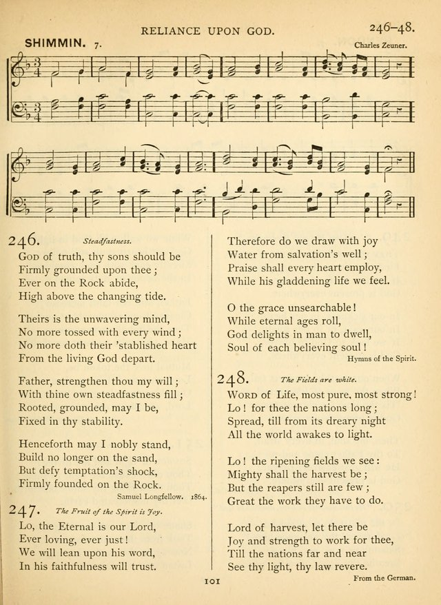 Hymn and Tune Book for the Church and the Home. (Rev. ed.) page 102