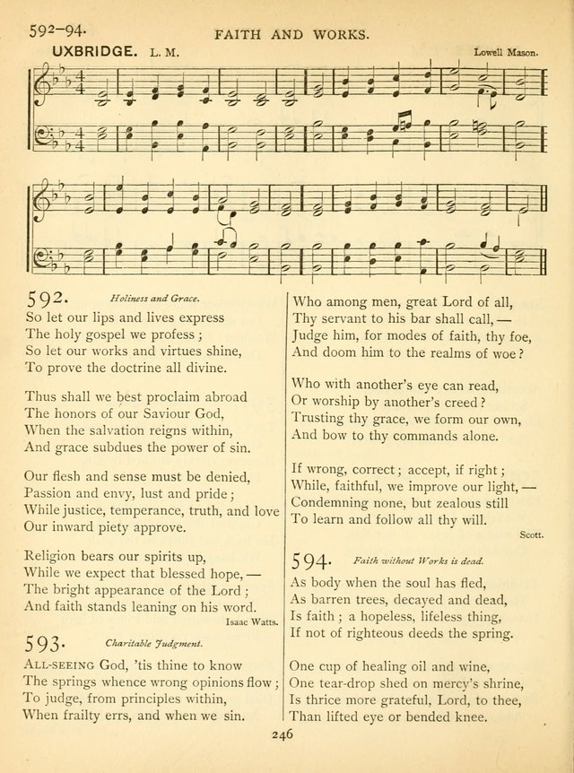 Hymn and Tune Book for the Church and the Home. (Rev. ed.) page 251