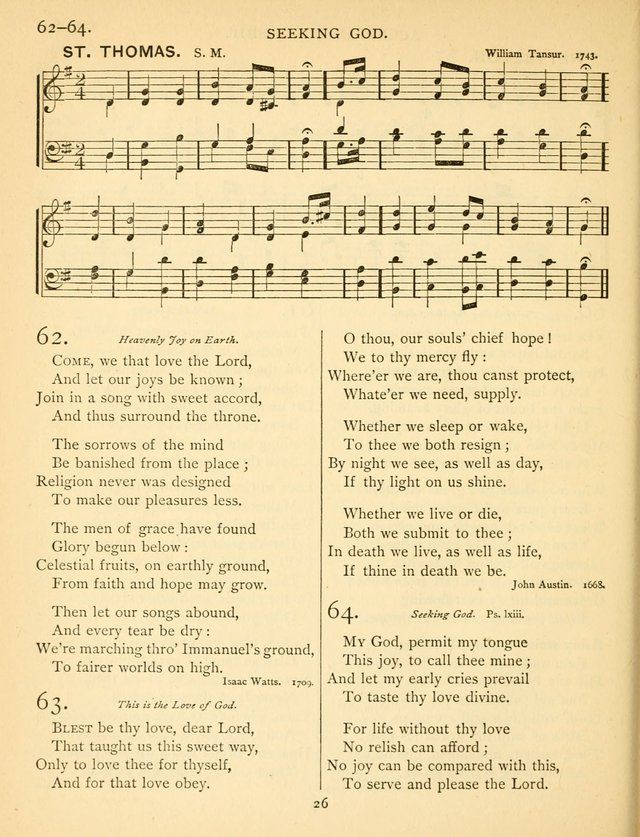Hymn and Tune Book for the Church and the Home. (Rev. ed.) page 27