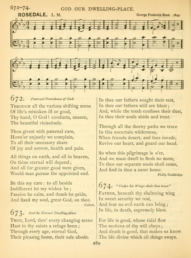 Hymn and Tune Book for the Church and the Home. (Rev. ed.) page 285