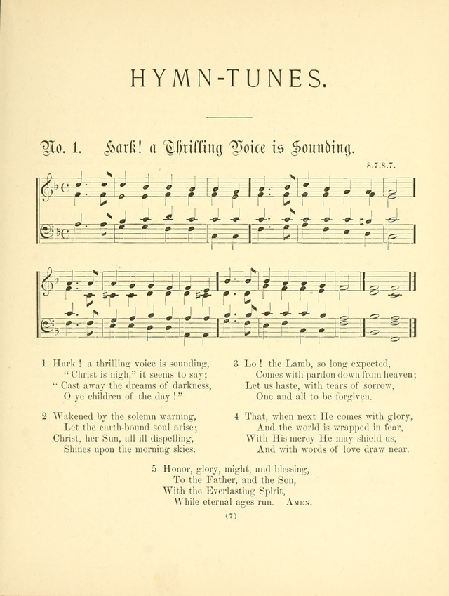 Hymn tunes: being further contributions to the hymnody of the church page 10