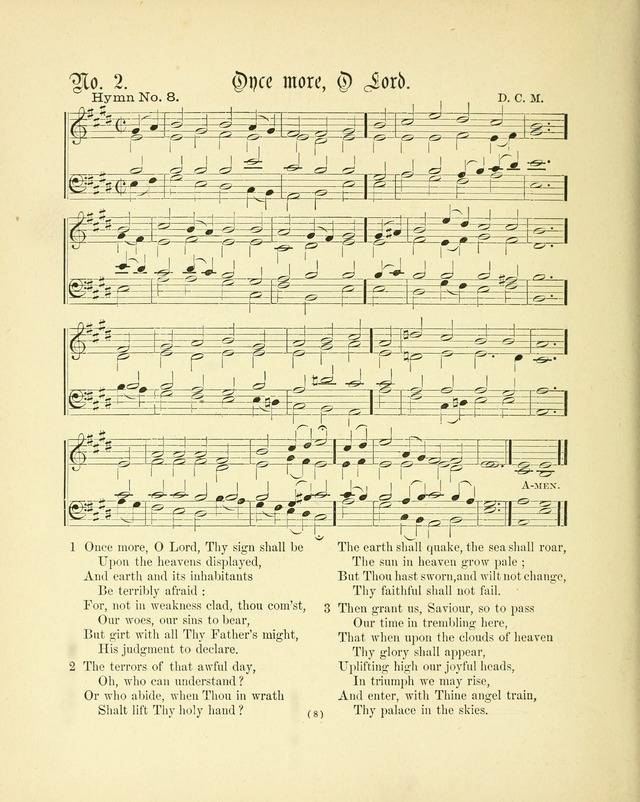 Hymn tunes: being further contributions to the hymnody of the church page 11