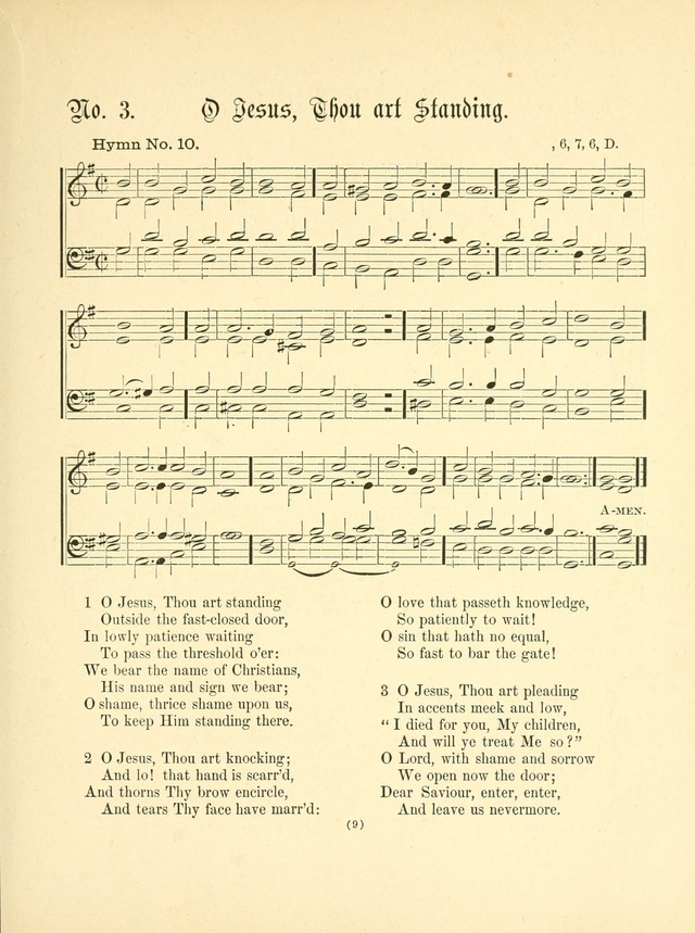 Hymn tunes: being further contributions to the hymnody of the church page 12