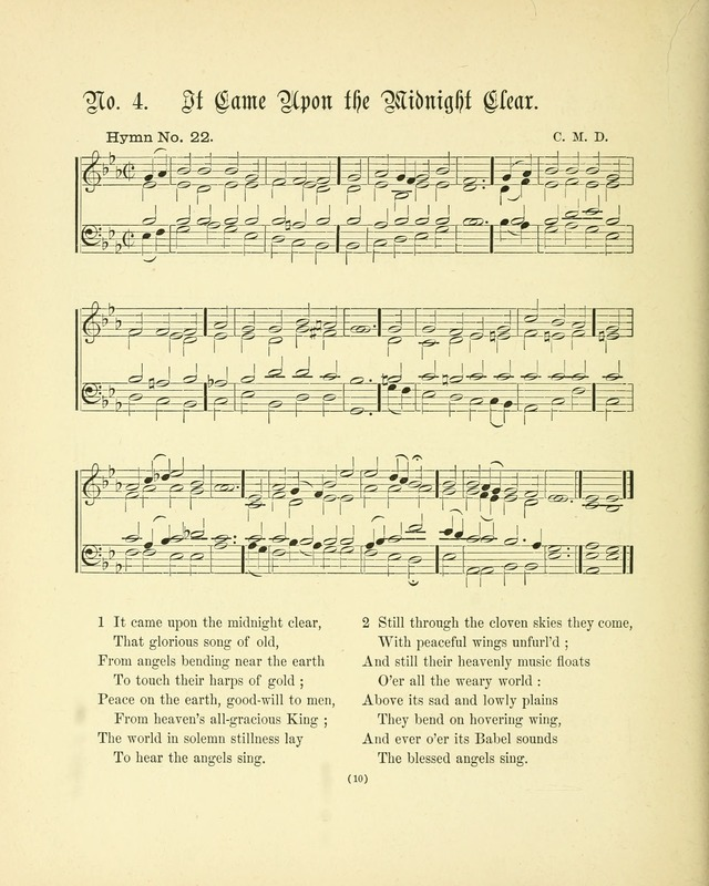 Hymn tunes: being further contributions to the hymnody of the church page 13
