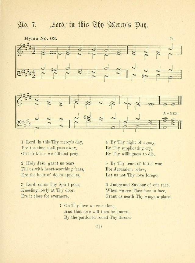 Hymn tunes: being further contributions to the hymnody of the church page 16