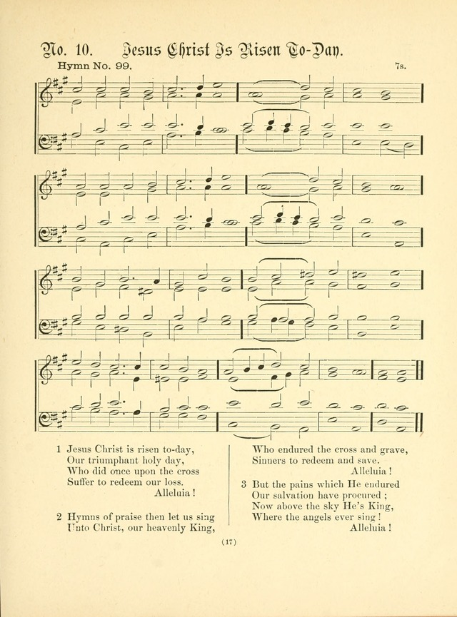 Hymn tunes: being further contributions to the hymnody of the church page 20