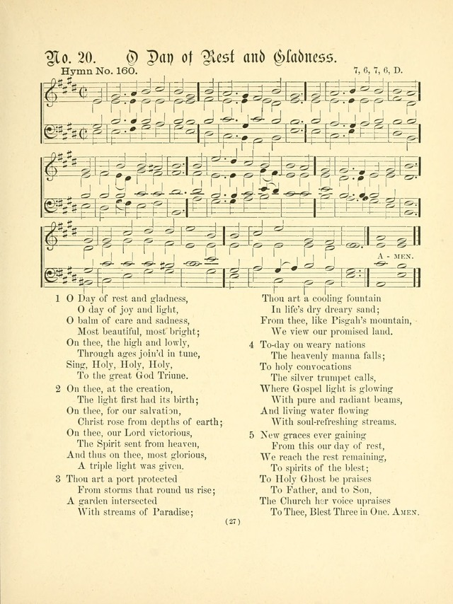 Hymn tunes: being further contributions to the hymnody of the church page 30