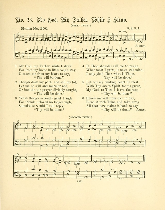 Hymn tunes: being further contributions to the hymnody of the church page 38