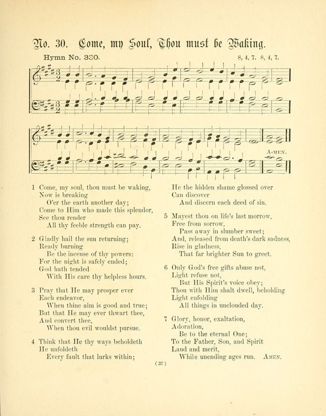 Hymn tunes: being further contributions to the hymnody of the church page 40