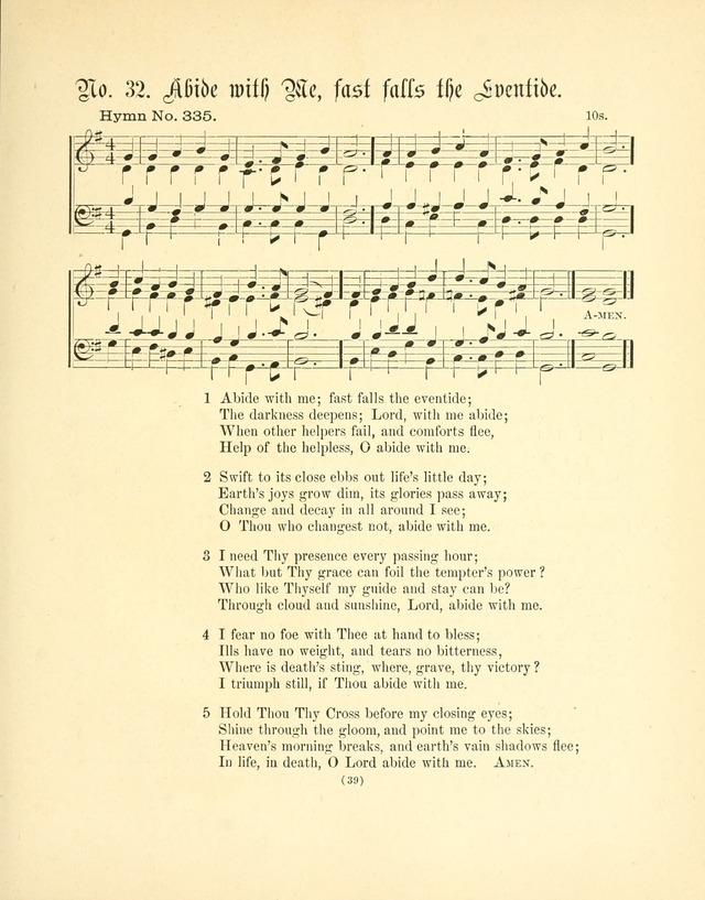 Hymn tunes: being further contributions to the hymnody of the church page 42