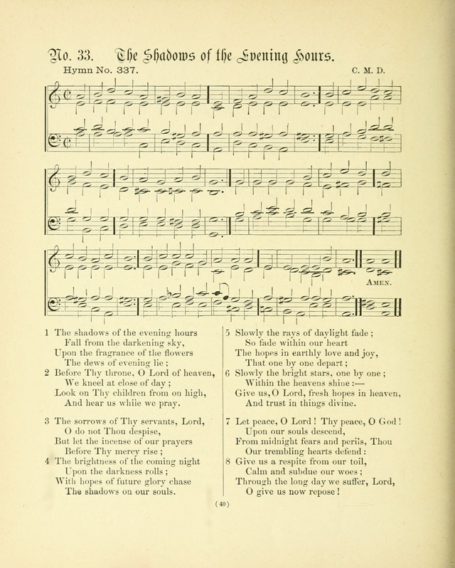 Hymn tunes: being further contributions to the hymnody of the church page 43