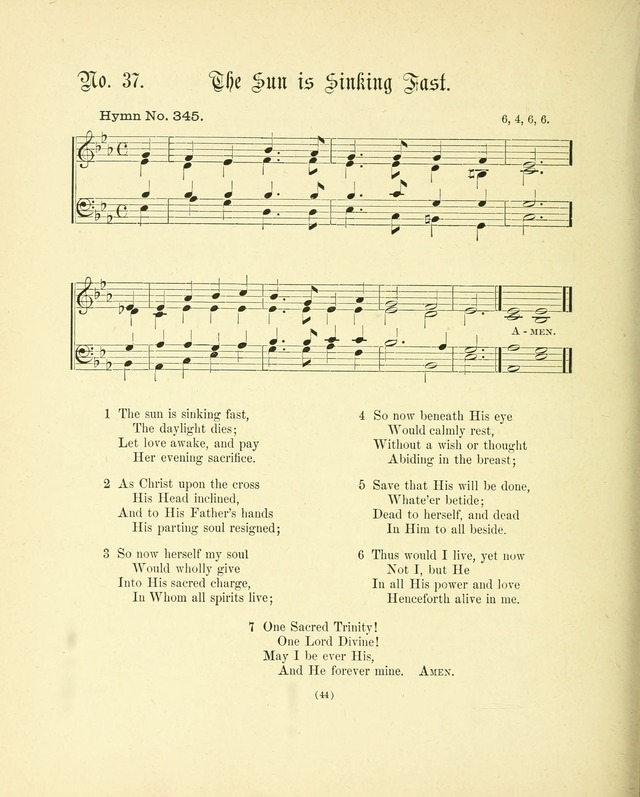 Hymn tunes: being further contributions to the hymnody of the church page 47