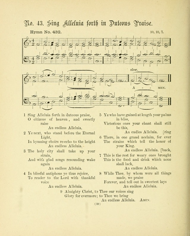 Hymn tunes: being further contributions to the hymnody of the church page 53