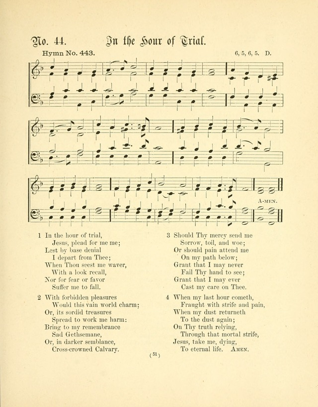 Hymn tunes: being further contributions to the hymnody of the church page 54