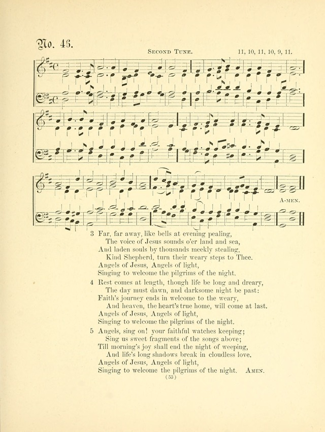 Hymn tunes: being further contributions to the hymnody of the church page 56