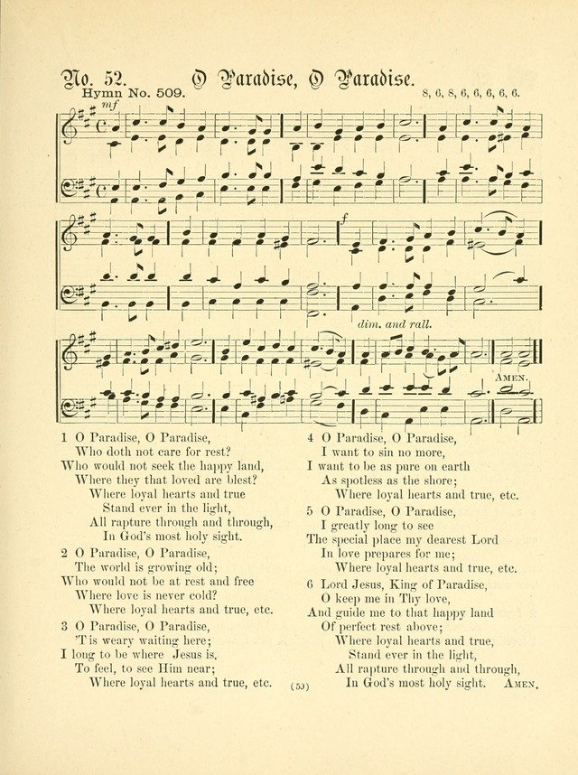 Hymn tunes: being further contributions to the hymnody of the church page 62