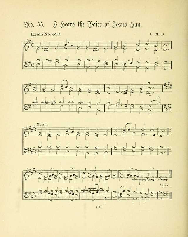 Hymn tunes: being further contributions to the hymnody of the church page 65