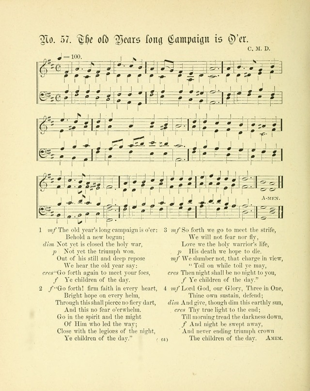 Hymn tunes: being further contributions to the hymnody of the church page 67