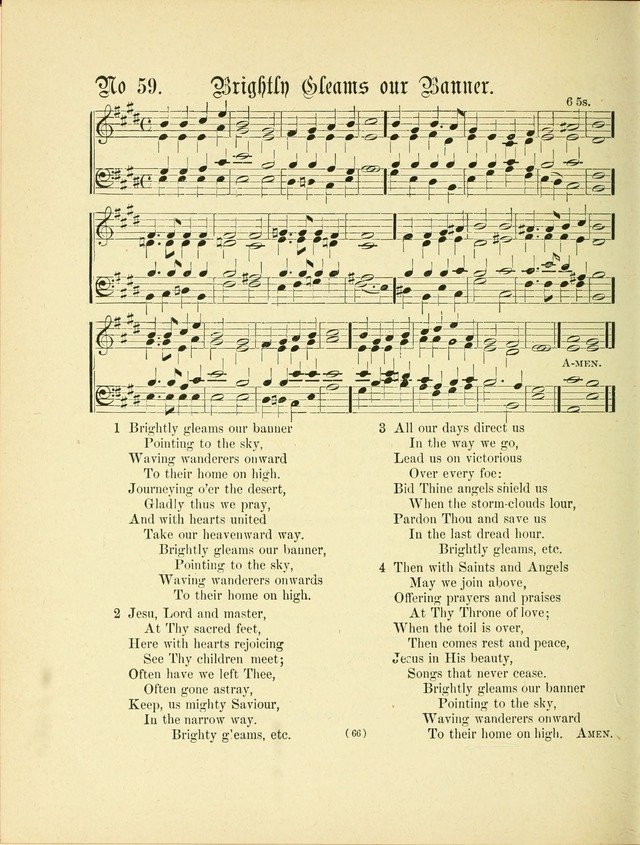Hymn tunes: being further contributions to the hymnody of the church page 69
