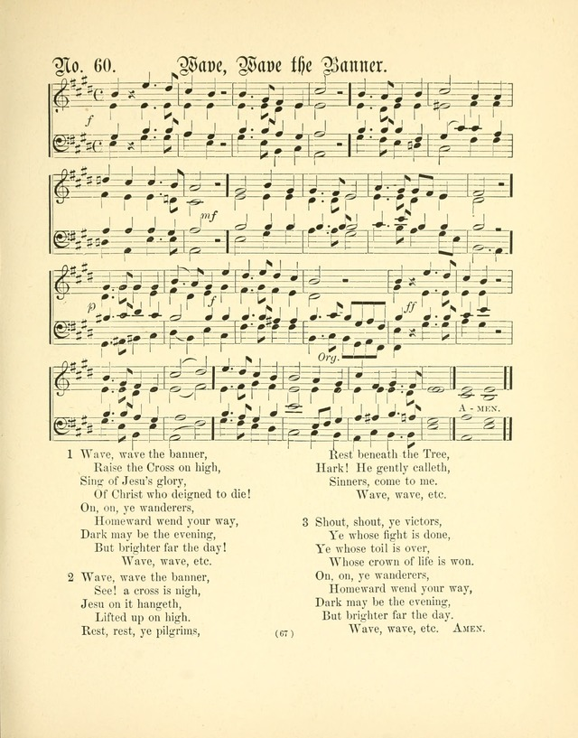 Hymn tunes: being further contributions to the hymnody of the church page 70