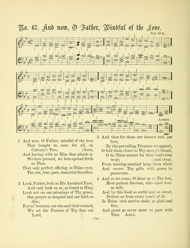 Hymn tunes: being further contributions to the hymnody of the church page 77