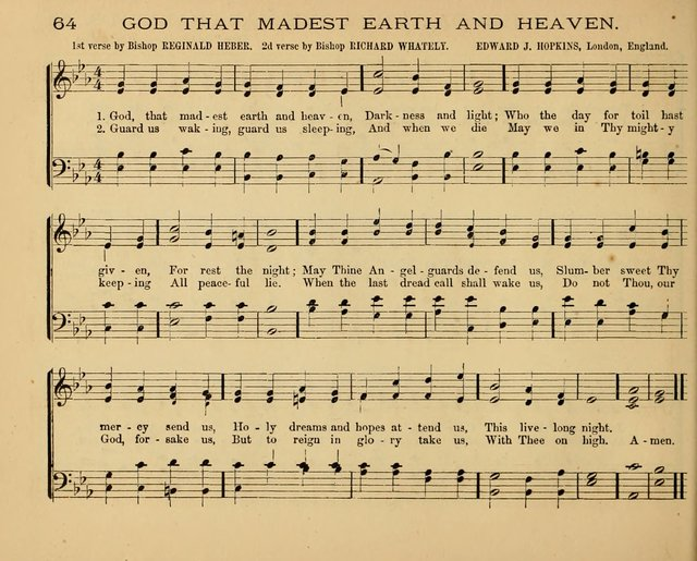 The Hymnary with Tunes: a collection of music for Sunday schools page 64