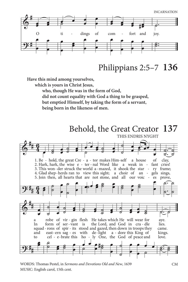 Hymns to the Living God 135. God rest you merry, gentlemen | Hymnary.org