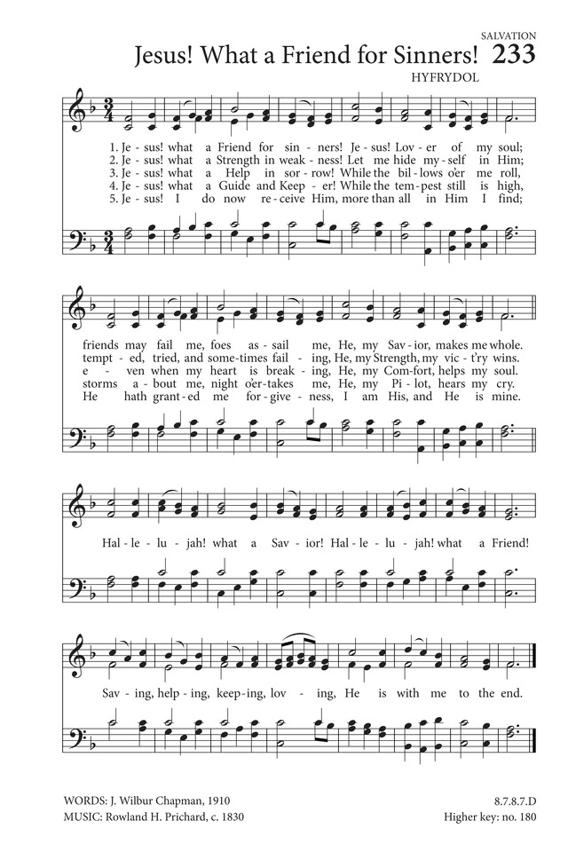 Our Great Savior Hymnary