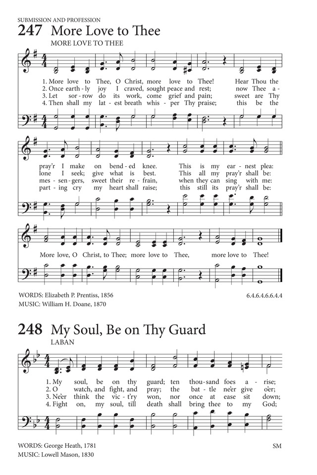 My Soul, Be on Thy Guard | Hymnary org
