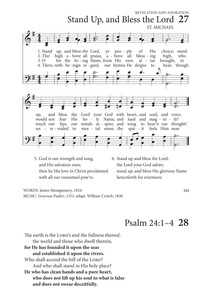 Stand up, and bless the Lord | Hymnary org