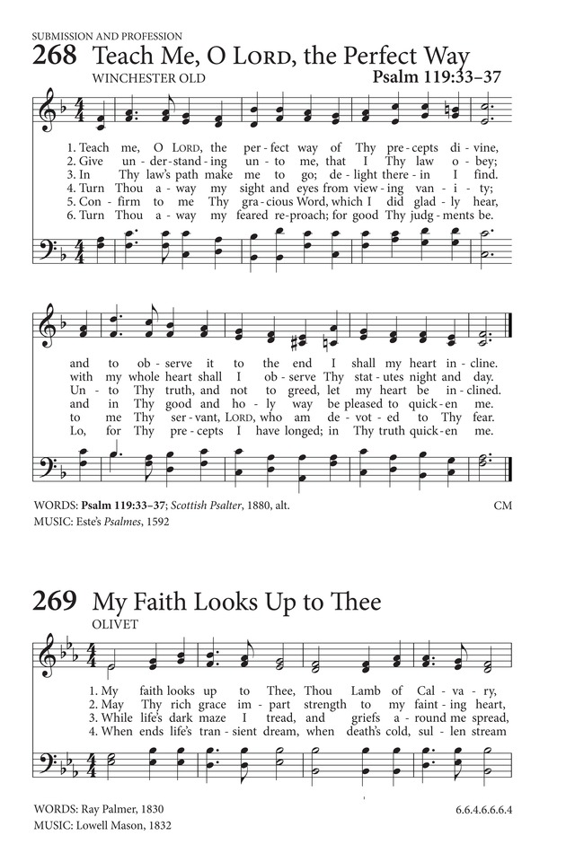 My Faith Looks Up to Thee | Hymnary.org