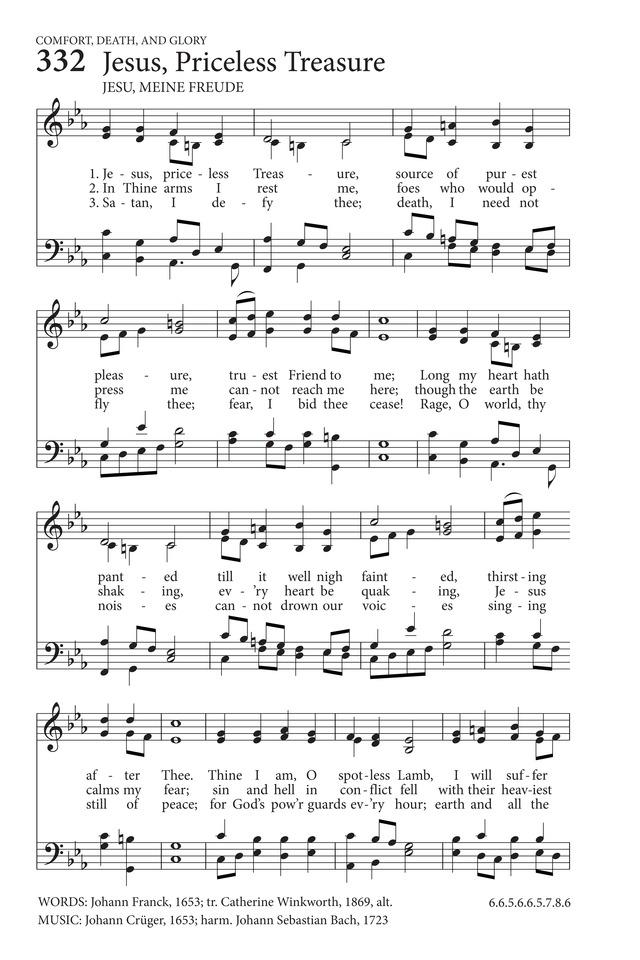 Lyric my most precious treasure lyrics : Jesus, Priceless Treasure | Hymnary.org