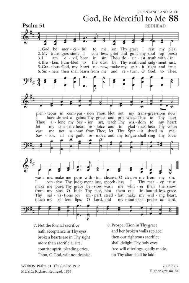 Hymns to the Living God page 68