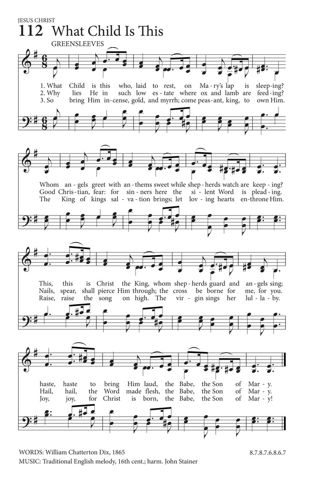 What Child Is This | Hymnary.org