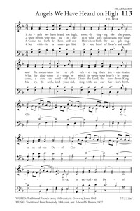 angels we have heard on high satb free