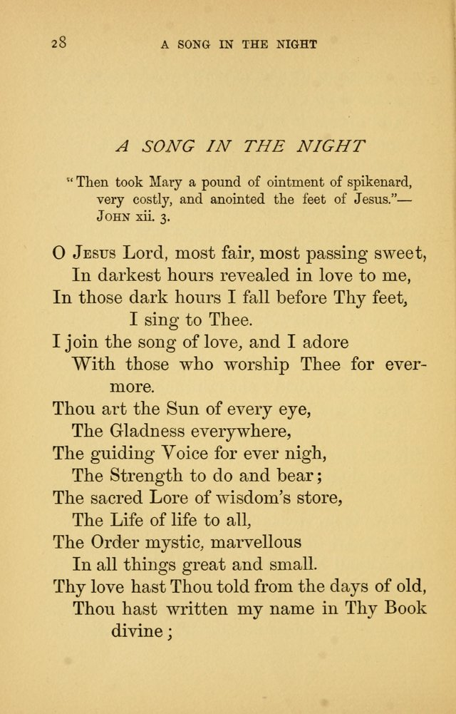 Hymns of Ter Steegen and Others (Second Series) page 28