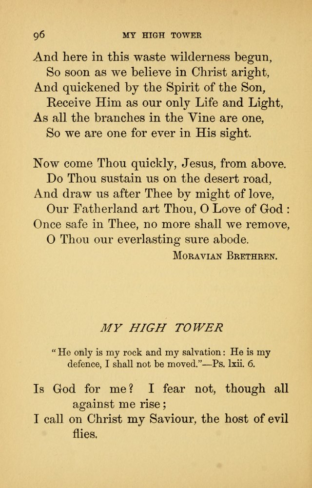 Hymns of Ter Steegen and Others (Second Series) page 96