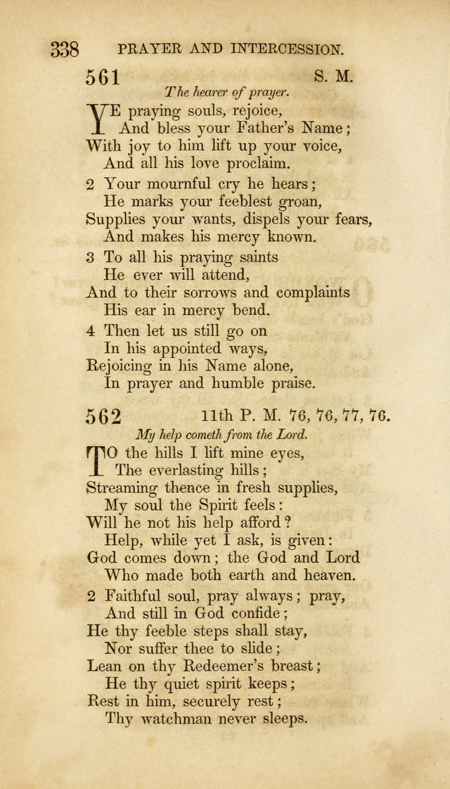 Hymns for the Use of the Methodist Episcopal Church. Rev. ed. page 345