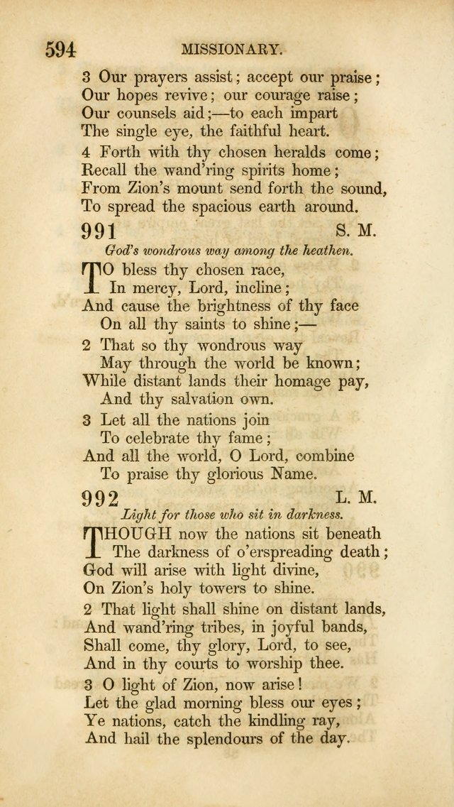 Hymns for the Use of the Methodist Episcopal Church. Rev. ed. page 601