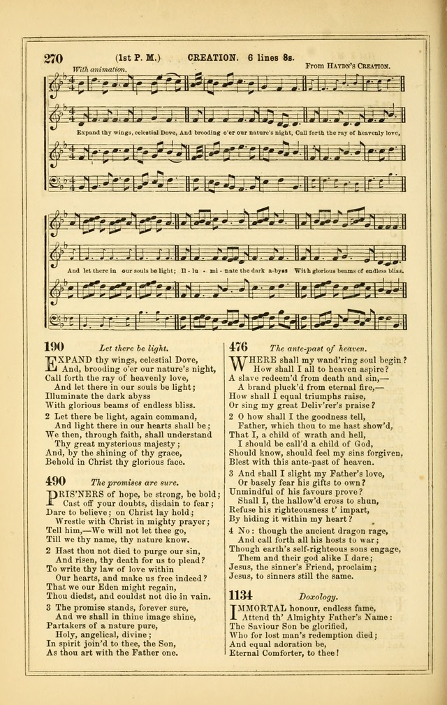 The Heart and Voice: or, Songs of Praise for the Sanctuary: hymn and tune book, designed for congregational singing in the Methodist Episcopal Church, and for congregations generally page 270