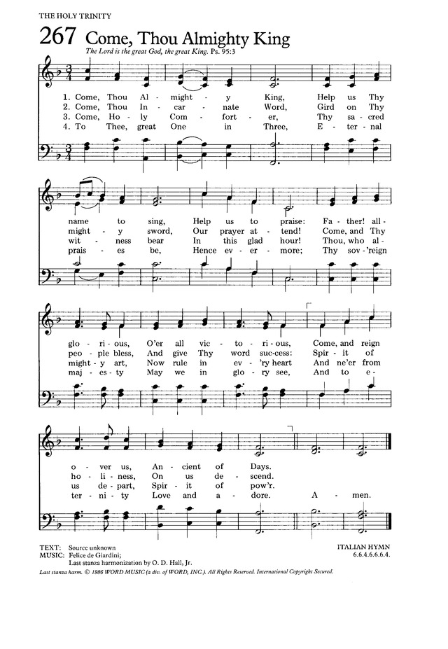 The Hymnal for Worship and Celebration page 268