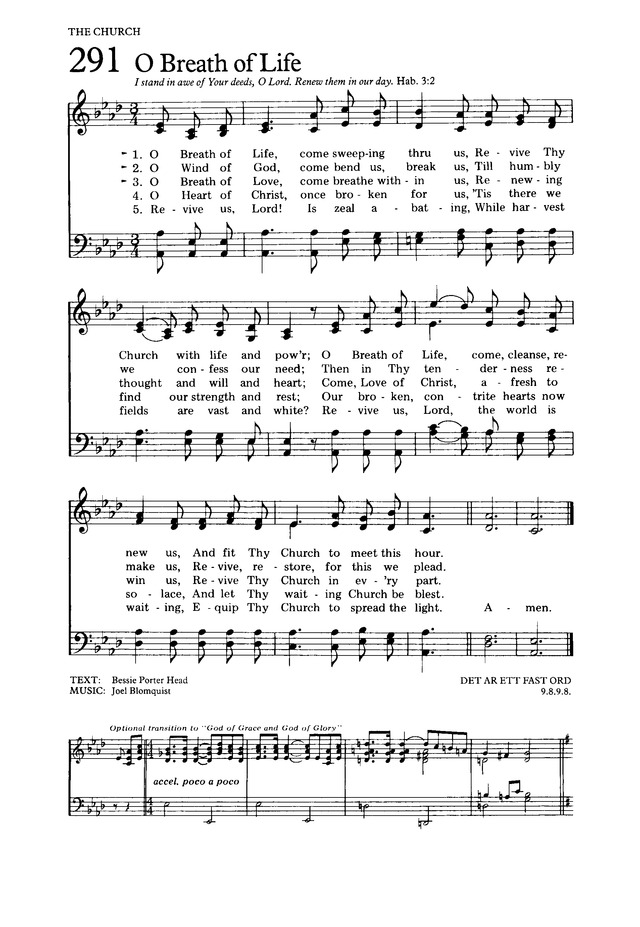 The Hymnal for Worship and Celebration page 290