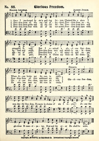 Lyric freedom lyrics gospel : Glorious Freedom | Hymnary.org