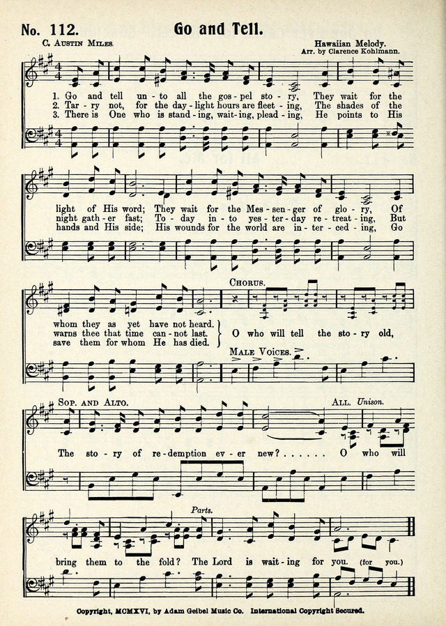 Hymns We Love page 88