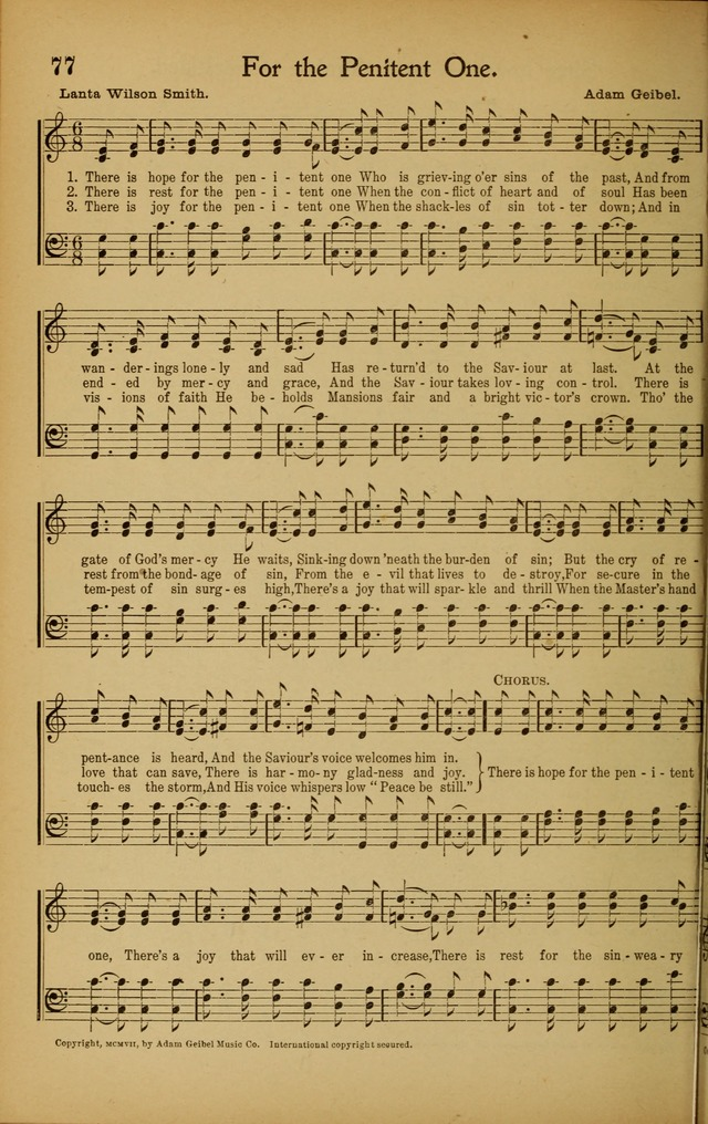 Hymns We Love, for Sunday Schools and All Devotional Meetings page 78