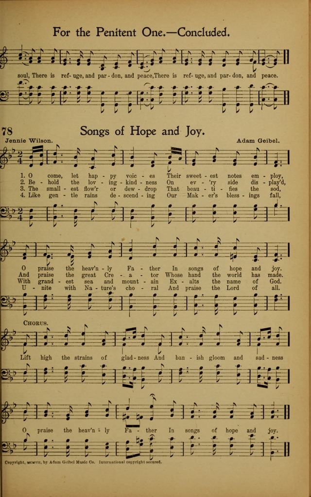 Hymns We Love, for Sunday Schools and All Devotional Meetings page 79