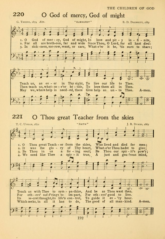 Hymns of Worship and Service: for the Sunday School page 211