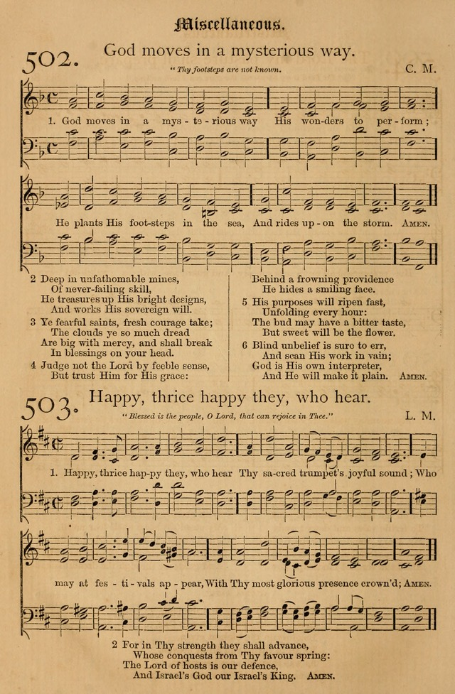 The Hymnal: with tunes old and new page 423