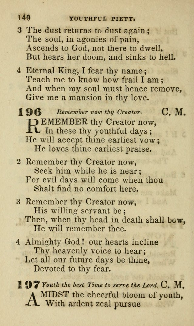 Hymns for Youth, Suitable to be Used in Sabbath and Parochial Schools page 151