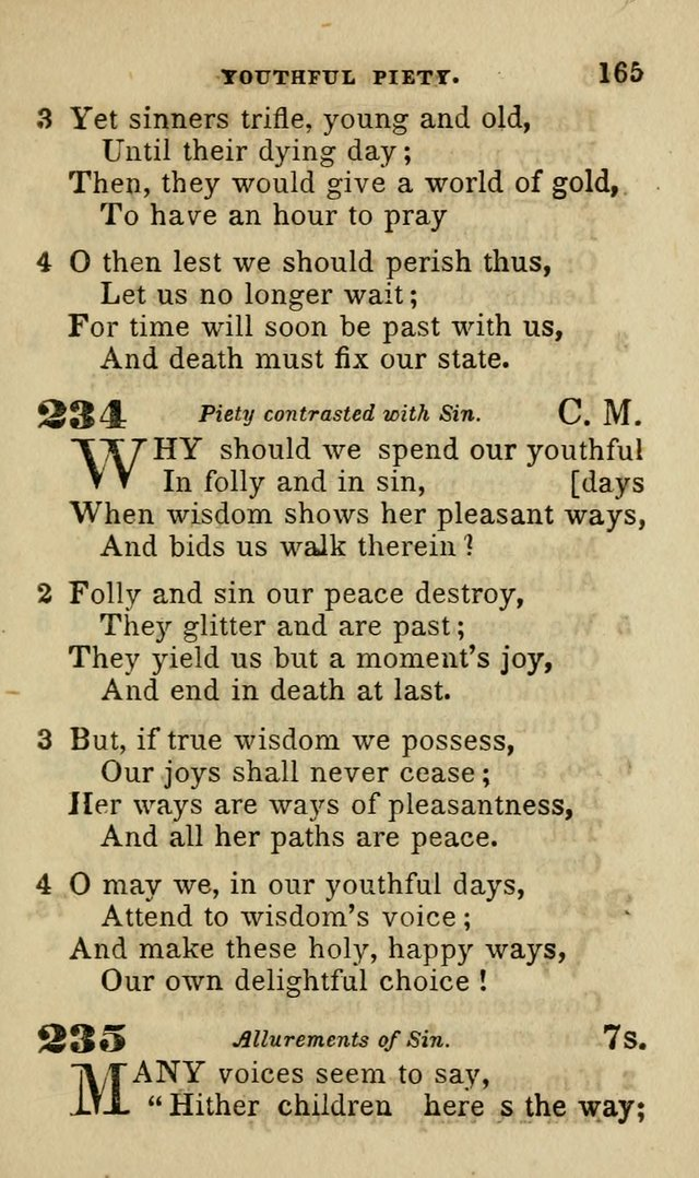 Hymns for Youth, Suitable to be Used in Sabbath and Parochial Schools page 176